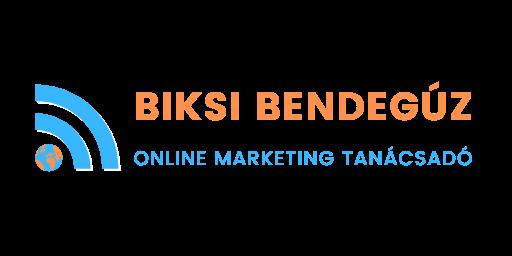 Biksi Bendegúz Online Marketing Tanácsadó